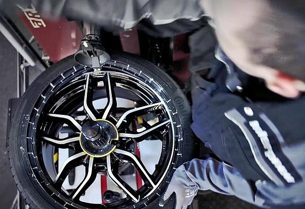 Service roue complète offert